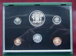 Jamaica 1997 Proof Set - Rare With Small Mintage