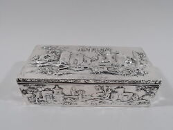 Kirk Box - 13/5 - Antique Baltimore - American Sterling Silver - 1903/24