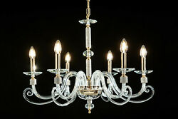 Chandelier Classic Crystal And Rhinestone 6 Lights Design Op Kelly