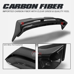 Carbon Fiber Dag Style Rear Trunk Roof Spoiler Wing Part For Mini Cooper S F56