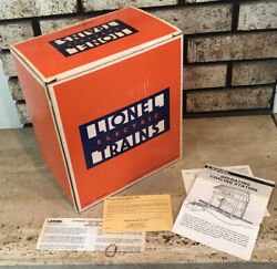 Box And Instructions Only- Lionel Trains Operating Coaling Station 6-2315 Vtg 1983