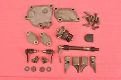 1993 - 1997 Honda Cr125 Cr 125 Complete Exhaust Power Valve Cylinder Cover Nice