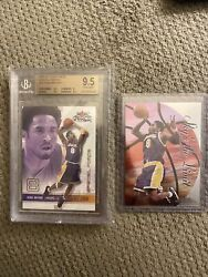 Kobe Bryant Insert Lot 2001 Special Forces /250 Bgs 9.5 Skybox Skys The Limit