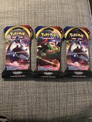 Heavy - 3 Packs - Pokemon Sword And Shield 3-card Booster Pack