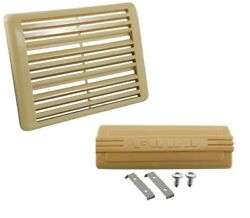 1948 1949 1950 Ford Pickup / Truck Radio Hole And Speaker Grille Covers- Beige