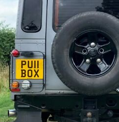 Private Number Plate Pu11 Box Horses Horse Riding Racing Gg Pony