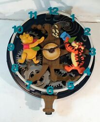 Disney Winnie The Pooh And Friends Animated Musical Wall Clock Tigger