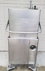 Hobart Am15 High/low Temp Commercial Dishwasher. Without Booster Heater.