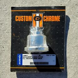 Custom Chrome Global Vintage Replacement Liquid Filled Oil Pressure Guage 60 Lbs