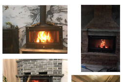 Brand New A Household Wood Inserts Wooden Fireplace Stove Heater