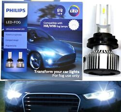 Philips Ultinon Led 40w 6500k White H8 Two Bulbs Fog Light Upgrade Replacement K