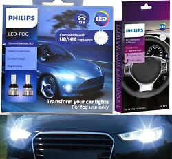 Philips Ultinon Led 40w Canceller H16 64219 Two Bulb Fog Light Upgrade Replace