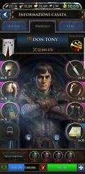 Account Game Of Thrones Conquest- Got Conquest K616 T9 52m Power Dragon 43