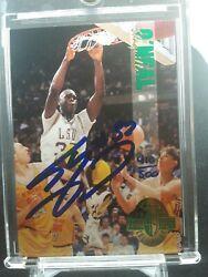 1993 Shaquille Oand039neal Calssic 4 Sport Auto 410/500 Lsu College Extremely Rare