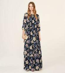 Indie Maxi Dress 2 Silk Hopewell Floral Nwt Xs