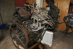 Chandler And Price 12 By 18 Letterpresswith A Kluge Adapter Open To All Offers