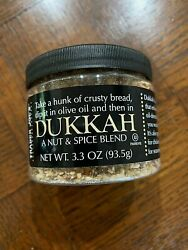 Trader Joeand039s Dukkah Nut And Spice Blend 3.3 Oz Jar Seasoning Dip Topping