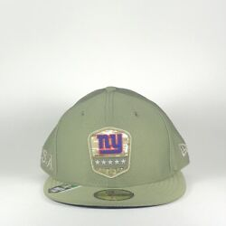 New Era New York Giants Ny 59fifty 5950 Salute To Service Nfl Hat Size 7 1/2