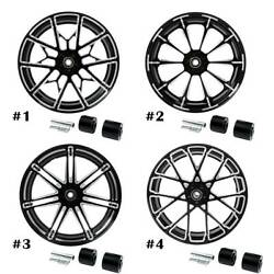 18and039and039 X 5.5and039and039 Rear Wheel Rim W/ Hubs For Harley Touring Non Abs Models 2008-2021