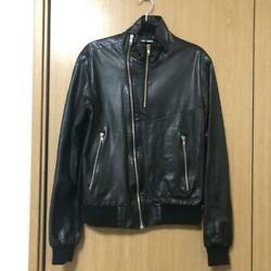 Raf Simons Leather Jacket Size 46 F/s From Japan
