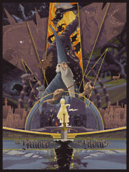 The Sword In The Stone By Rich Kelly Signed Ltd X/365 Screen Print Poster Art