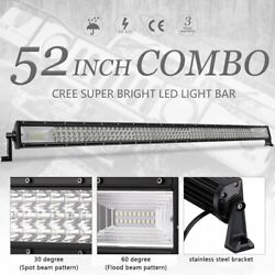 52inch 700w Cree Led Light Bars Combo Offroad Roof Light For Truck Atv 50/54