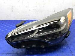 2018 - 2020 Kia Stinger Gt Left Front Led Headlight Repaired Tabs/lens Scuff