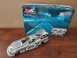 New Autographed John Force 2006 Mustang Chrome Funny Car 25th Anniv Us Nationals