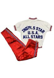 Tom Van Arsdale Usa All Stars Game Worn Warm Up Top And Pants Vs Ussr Nba Star