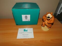 Wdcc March In Step Humphrey The Bear From Walt Disney The Mickey Mouse Club Coa