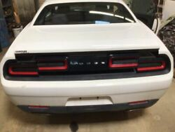 Trunk/hatch/tailgate Without Spoiler Fits 15-17 Challenger White 3730323
