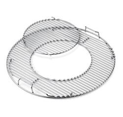 Weber Gourmet Bbq System Hinged Cooking Grate For 22 Charcoal Grills - 8835
