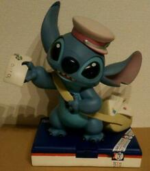 Disney Store Limited Stitch Big Figure Postman Limited 626 Polyresin F/s From Jp
