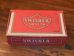 Vintage Swisher Sweets Red Empty Cigar Box 1970s Antique – 5 Cents