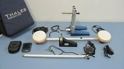 Thales Navigation Gps Antenna System With Case