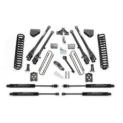 Fabtech K20132m 6 4 Link System W/ Stealth Shocks For 2005-2007 Ford F350 4wd