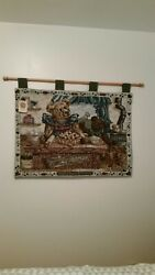 BOYDS BEARS TAPESTRY AND DOOR PILLOW ☆FREE SHIPPING ☆