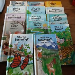 Lot 14 Weekly Reader The Just Ask Series Hardcover Books Science Nature 80and039s