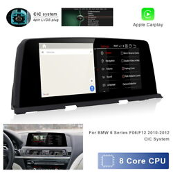 8-core Android Car Gps Video Wifi Auto Wireless Carplay For Bmw 6 Series F06 F12