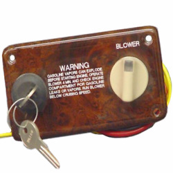 Boat Ignition Switch Panel | Godfrey 6 Pin 5 X 2 Inch