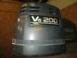 Yamaha 200hp Saltwater Series Ii Outboard Top Cowling