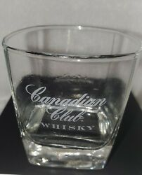 Vintage - Canadian Club Whisky - Square Bottom Glass