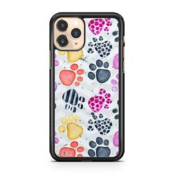 Polka Dot Covered Dog Animal Paw Prints Chevrons Colourful Camo Phone Case Cover
