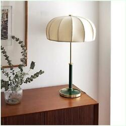 European Style Vintage Table Lamp Fabric Lamps For Living Room Bedroom Light