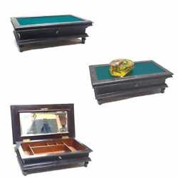 Funny And Rare Poker Chips Box Billiard Table Miniature Shape Bm Or Mb