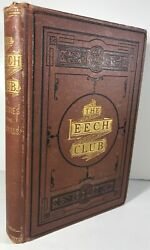 George W Owen / The Leech Club Or The Mysteries Of The Catskills 1st Ed 1874