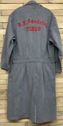 Antique 1910s Bf Goodrich Chain Stitched The Freeland Workwear Shop Chore Coat