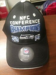 Nfl Seattle Seahawks Nfc Conference Champions 2014 Youth Hat Boys 8-20 New