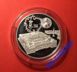 25 Roubles 2014 Russia Foundation Of The State Hermitage 250 Years Silver Proof