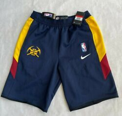 Nwt Nike Nba Denver Nuggets Team Player Issue Practice Flex Shorts Rare Large